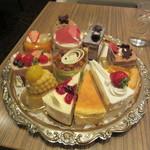 門洋菓子店 - ケーキのサンプル