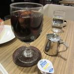 門洋菓子店 - アイスコーヒー