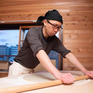 和食の料理人が求め続けた『美味い蕎麦」