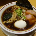 我武者羅 - 料理写真:味玉ラーメン
