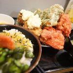札幌ザンギ本舗 - マウンテンザンギ定食