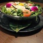 個室夜景&クラフトビール 蒼天 - 彩り野菜のシーザーサラダ