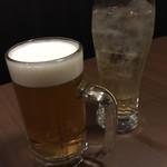 個室夜景&クラフトビール 蒼天 - ハイボールと生ビール