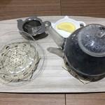 アイズ カフェ - ドリンク写真:マローブルー  500円  税抜