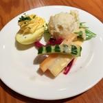 ザ ホームラン バー - ランチのサラダ