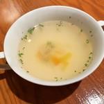ザ ホームラン バー - ランチのスープ