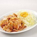中華東秀 - 豚肉生姜焼き