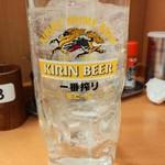 日高屋 - ウォッカソーダ割260円