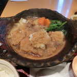 大戸屋 - チキンかあさん煮定食870円