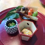 東山 - 前菜