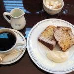 10558407 - ブレンドコーヒーとチョコとバナナのパウンドケーキ