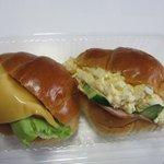 フォーンドール - 料理写真:バターロールサンド