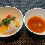 105582630 - 山菜のポトフ、ミネストローネ
