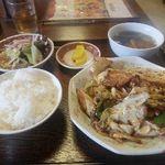 福寿飯店 - 料理写真:回鍋肉ランチ