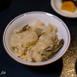 錦水館 - 牡蠣釜飯
