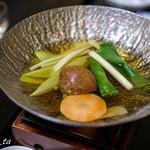 錦水館 - 真鯛の味しゃぶ鍋