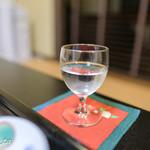 錦水館 - 食前酒