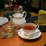 パティスリー SATSUKI - ☆紅茶でホッと癒されました☆
