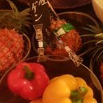 島のごちそう てぃんがーら - ランチの食べ放題島野菜たち