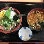 海鮮や 活活丸 - 丼セット