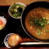 饂の神 - 料理写真:牛肉カレーうどんセット2玉