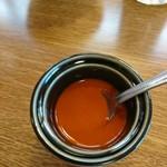 アーガマン - 料理写真:辛いソース