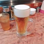 東京餃子楼 - 生ビール