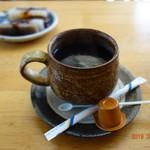 列車レストラン・清流 - ホットコーヒー