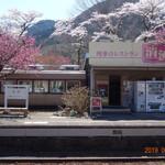 列車レストラン・清流 - ホームにあるレストラン