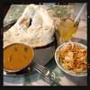 ナマステポカラ - 料理写真:チキンとナスのカレー 680円