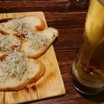 バルデザック ザックバラン - お通し 生ビール