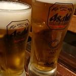 バルデザック ザックバラン - 生ビール メガ生ビール