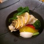 丸の内 タニタ食堂 - 甘鯛のムニエル レモンバターソース