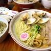 ふくろう - 料理写真:限定 つけ麺 〜追いはまぐり仕立て〜