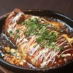 105611410 - ◆鶏ハラミのトン平焼き 580円(税別)