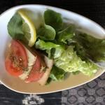 燻香廊 - 豆腐サラダ