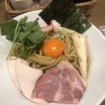 Mugitooribu - 濃厚卵のまぜSOBA 大 ¥780(税別)
