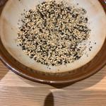 四川担々麺 いぶし銀 - 胡麻