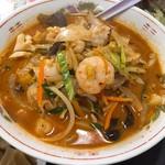 新雪園 - 辛口チャンポン麺