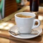 トシ スタイル - とろける天使のフレンチトースト@580円:14:00-17:00なら、プラス200円でコーヒー(ホットorアイス)を付けられる。