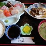 きん魚 - 刺身定食