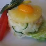 栄寿亭 - ポテトサラダアップ