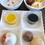 105622454 - セレクトバイキング¥1550(税込)…チャーハンか担々麺かお粥等の中から1品セレクトすると、前菜・点心・デザート・ドリンク等のバイキングが付いてきます。