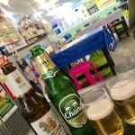 105622727 - シンハービール¥650、チャーンビール¥650