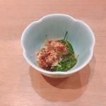 沼津海いち - 小鉢のメカブ