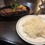 ステーキハウス 武蔵野 - サーロインステーキの旨さ…