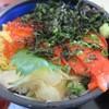 シーフードレストラン オールドリバー - 料理写真:ルイベ天然海苔丼