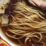 105630014 - 全粒粉入りの麺(中華蕎麦とみ田 富田治presents 最強ラーメン祭)