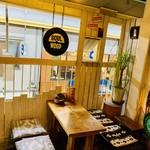 GRILL&BAR SOULWOOD - テラス席です。季節により開放してます!