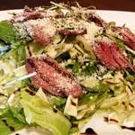 個室肉バルジャンラフィット - 自家製ベーコンとパルミジャーノのシーザーサラダ